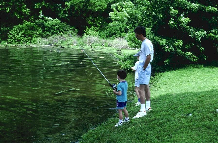 hidup itu seperti memancing